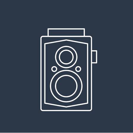 Vector of camera icon