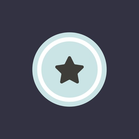 星のアイコンのベクトル