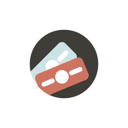 Vector of money bill icon