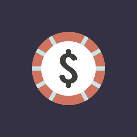 Vector of money currency icon