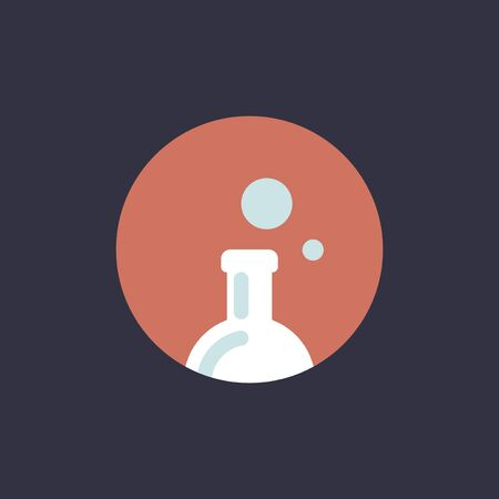 Vector van experimentfles