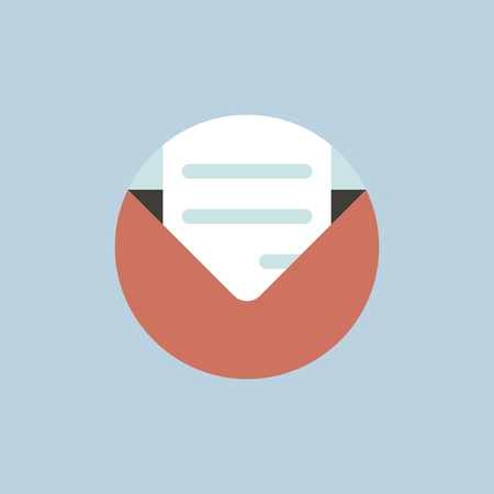 Vector of email icon Illustration