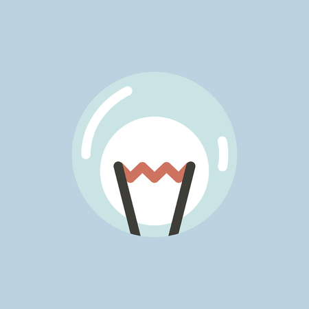 Vector of lightbulb icon