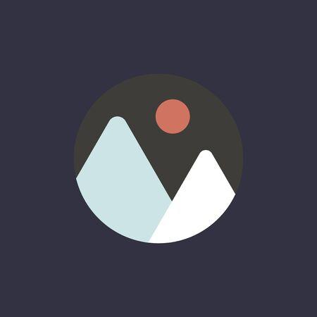 Digital marketing concept icon illustration.