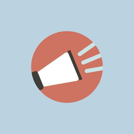 Digital marketing concept icon.