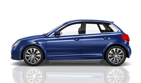 Car Vehicle Transportation 3D Illustration Concept Banco de Imagens - 89608421