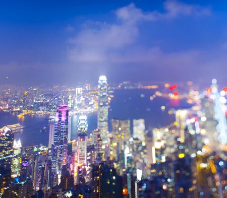 Hongkong city scape