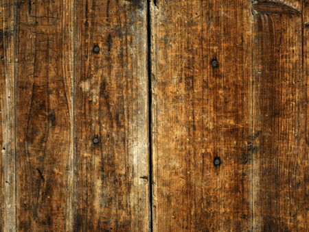 Ancient wooden background. Stock Photo