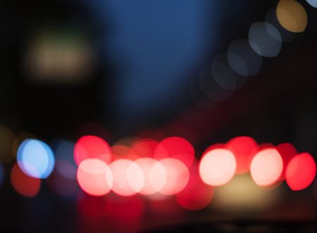 blurred light abstract nightlife Stock Photo