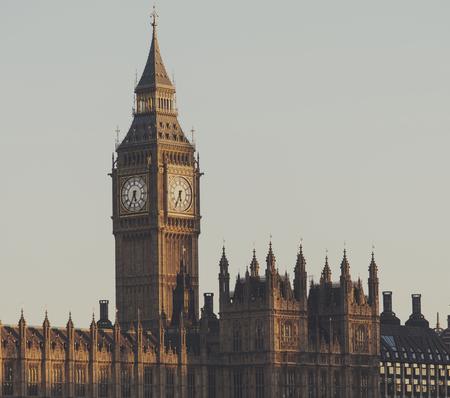 London landmark: Big Ben Stock Photo
