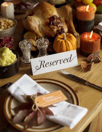 Thanksgiving day celebration Stock Photo