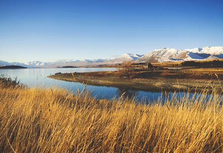 코 티 지 농촌 현장 산 호수 컨트리 사이드 개념