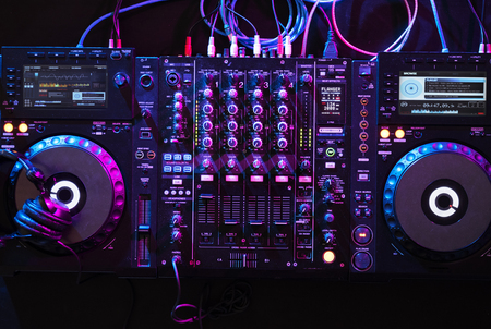 Sound mixer equipment