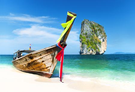 A beautiful beach in Thailand