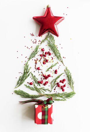 Kerstmis Nieuwjaar viering decoraties Concept