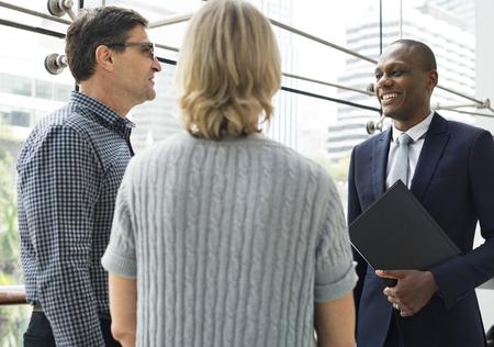 Business Kommunikation Verbindung Menschen Konzept Standard-Bild - 90178121