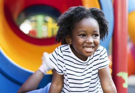 African Descent Girl Kid Child Generation 版權商用圖片 - 89593168