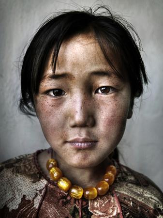몽골 여자의 초상화
