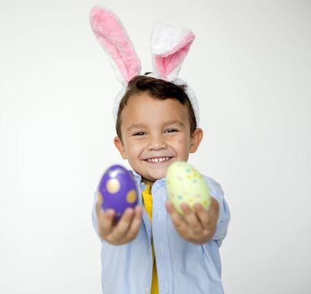 Kid Easter Celebration Studio Concept