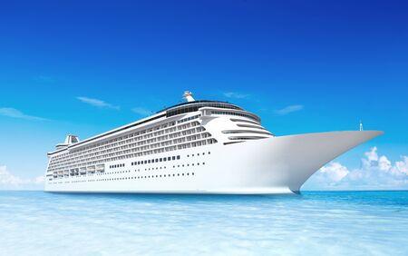 Kreuzfahrtschiff Standard-Bild - 90600809