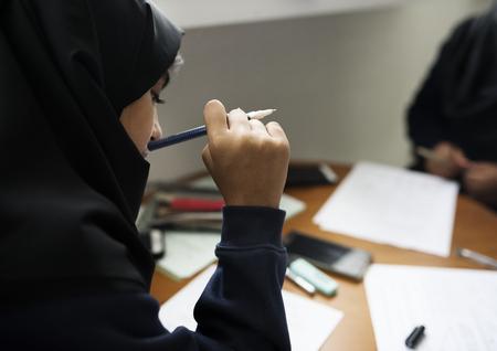 Young Muslim student 版權商用圖片