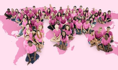 Les gens du monde Banque d'images - 90610146