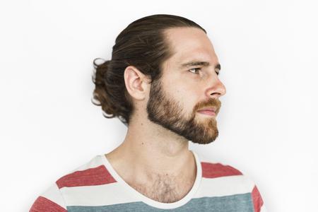 Handsome man with beard
