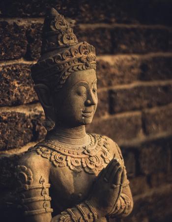 Thai Style Buddha Sculpture Concept 版權商用圖片