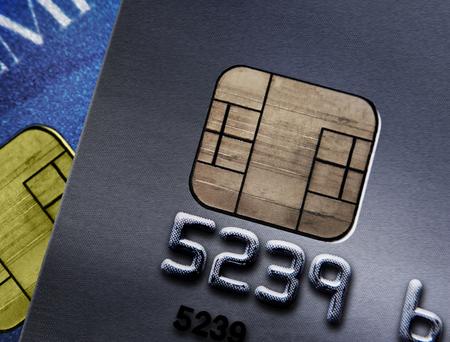 Closeup of credit cards Фото со стока - 90815382