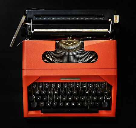 Vintage typrewriter shoot  Reklamní fotografie