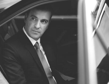 Businessman Corporate Taxi Transport Service