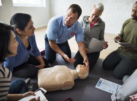 Corso di addestramento di primo soccorso CPR