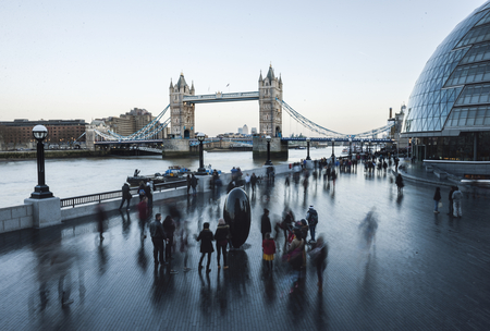 Tower Bridge in Londen, Engeland