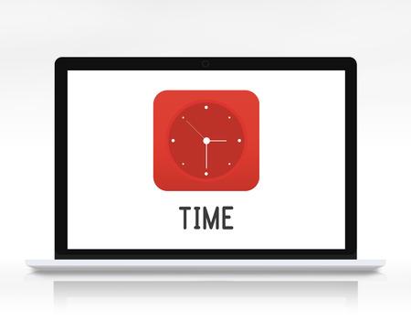 Time Clock Graphics Icon Symbol