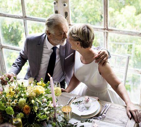 Bridge and groom wedding day