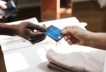 Credit card payment Banco de Imagens