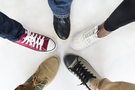 Shoes of various styles