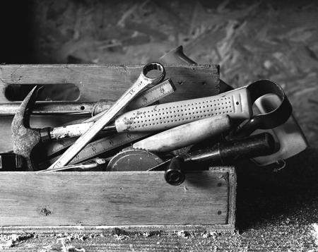 Strumenti per la lavorazione del legno Archivio Fotografico - 90686328
