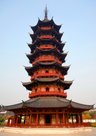 Ruiguang Ta (Pagoda), dating from the 3rd Century AD, Suzhou, China.