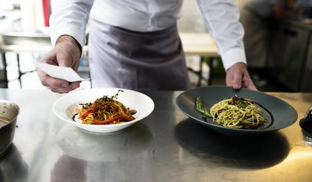 Gekookte Spaghetti