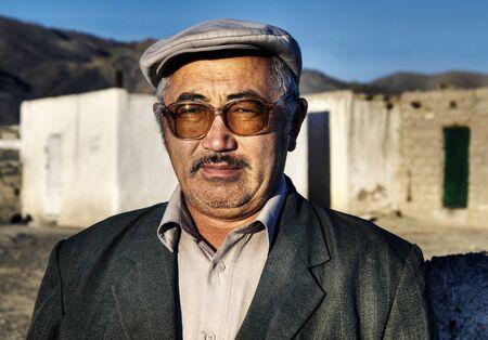 Mongolian man.