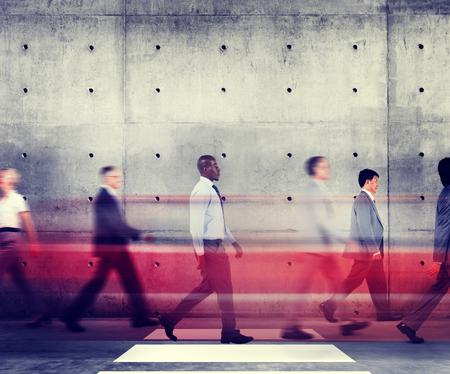 Bedrijfsmensen Collectief Organisatie Werkconcept Stockfoto