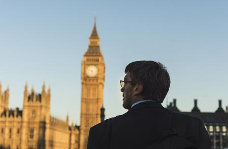 Zakenman in Londen Stockfoto - 90763012