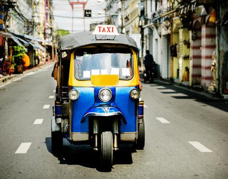 Tuk Tuk: Thai traditional taxi