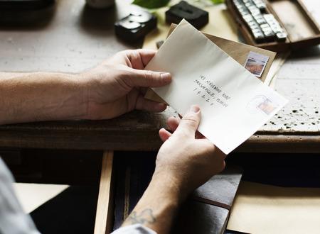 Recibiendo cartas
