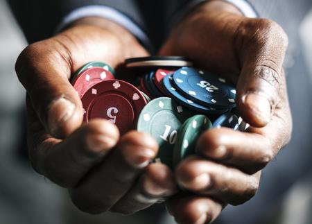 Illegaal gokken Stockfoto - 90762050