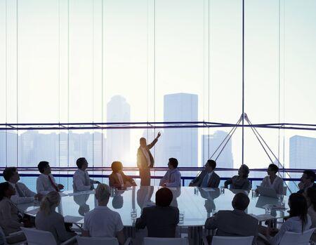 Salle de réunion Business Meeting Leadership Concept