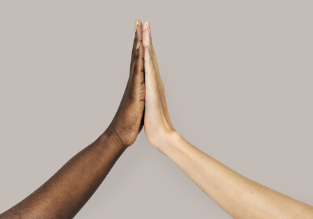 Hand holding variation of object Фото со стока