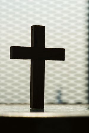 Closeup of cross