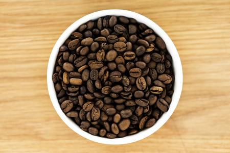 Closeup of coffee bean 版權商用圖片